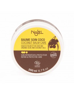 (已改為100克裝) 法國品牌 Najel 有機椰子油霜 Organic Coconut Care Balm