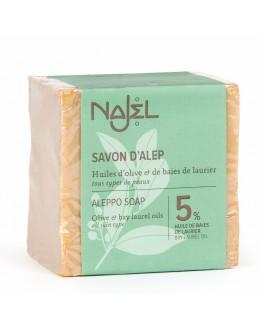 法國品牌 Najel 5%月桂油 阿勒頗手工古皂 Aleppo Soap
