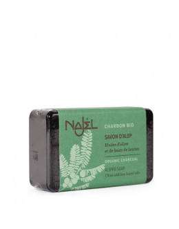 法國品牌 Najel 有機炭手工皂 Aleppo Soap with Organic Charcoal