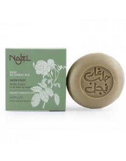 法國品牌 Najel 有機大馬士革玫瑰 阿勒坡手工皂 Aleppo Soap with Organic Damascus Rose
