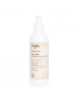 (NEW!) 法國品牌 Najel 有機玫瑰花味身體乳液 Organic Rose Scented Body Lotion