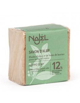 法國品牌 Najel 12%月桂油 阿勒頗手工古皂 Aleppo Soap