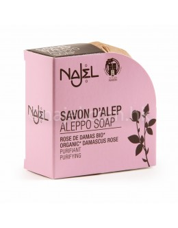 法國品牌 Najel 有機大馬士革玫瑰 阿勒頗手工皂 Aleppo Soap with Organic Damascus Rose