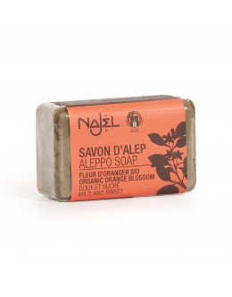 法國品牌 Najel 有機橙花 阿勒頗手工皂 Aleppo Soap With Organic Orange Blossom